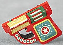 Vintage Tin Lithograph Gun Clicker (Image1)