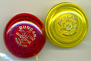 Vintage Duncan Imperial Yo -yos Set Of 2