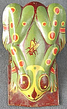 Vintage Tin Lithograph Frog Clicker (Image1)