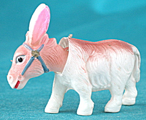 Vintage Celluloid Nodding Donkey