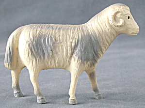 Vintage Celluloid Toy Large Ram