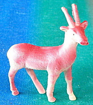 Vintage Celluloid Antelope
