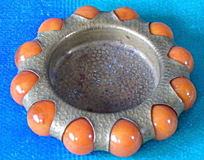 Art Deco Brass Fisher Jewel Tray (Image1)