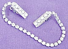 Vintage Rhinestone Sweater Guard  (Image1)