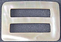 Vintage Mother of Pearl Belt Buckle (Image1)