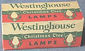 Vintage Westinghouse Bulbs (Image1)
