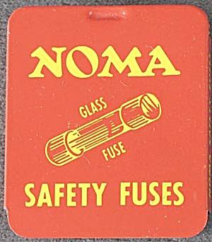 Vintage Noma Safety Fuses Tin (Image1)