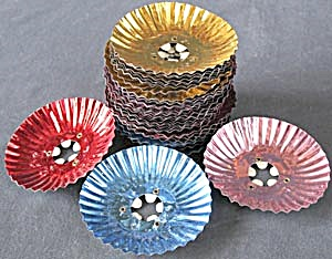 Vintage Foil Christmas Tree Light Reflectors  (Image1)