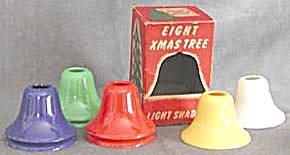 Vintage Bell Christmas Light Shades