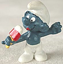 Vintage Ice Jolly Smurf & Judo Smurf Set of 2 (Image1)