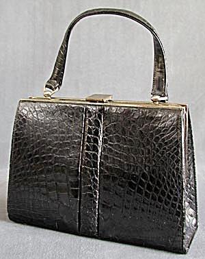 Vintage Crocodile Handbag (Image1)