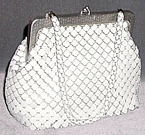 Vintage Whiting & Daves Mesh Purse (Image1)