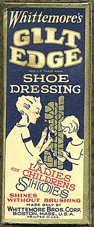 Whittemore's Gilt Edge Shoe Dressing (Image1)