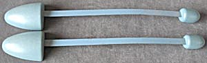 Vintage Blue Shoe Stretchers