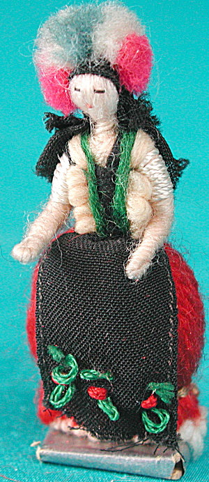 Vintage Small Handmade Doll