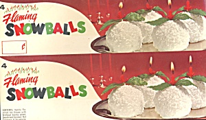 vintage Flaming Snowballs (Image1)