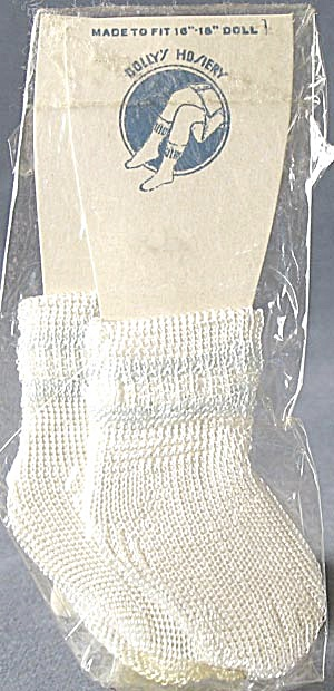 Vintage Doll Socks Mint in Package (Image1)