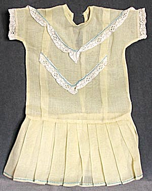 Vintage Yellow Doll Dress (Image1)