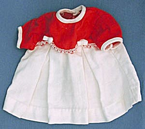 Vintage Red & White Dress (Image1)