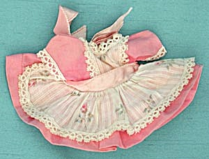 Vintage Vogue Doll Pink Dress (Image1)