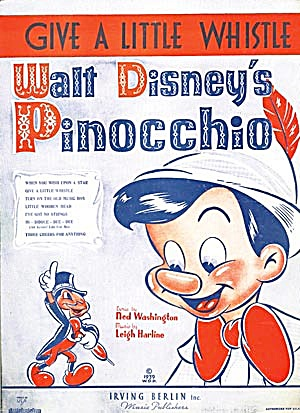 Walt Disney's Pinocchio: Give A Little Whistle
