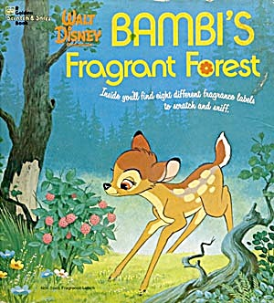 2 Walt Disney's Bambi Books