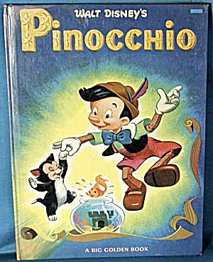 Vintage Disney Book: Pinocchio (Image1)