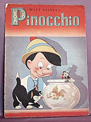 Vintage Book: Walt Disney's Pinocchio (Image1)
