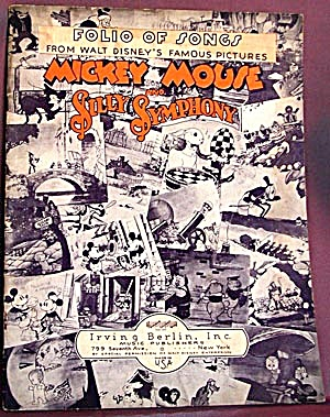 Vintage Mickey Mouse & Silly Symphony (Image1)