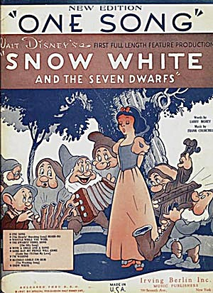 One Song; Walt Disney's; Snow White (Image1)