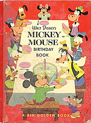 Walt Disney's Mickey Mouse Birthday Book (Image1)