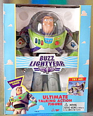 Toy Story Buzz Lightyear Ultimate Talking Action Figure