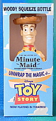 Toy Story Woody Squeeze Bottle Minute Maid
