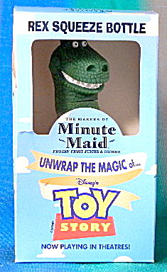 Toy Story Rex Squeeze Bottle Minute Maid