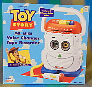 Mr Mike Voice Changer Tape Recorder Toy Story