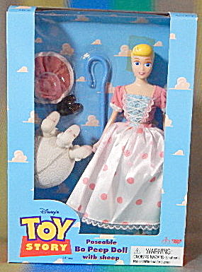 Toy Story Thinkway Toys Poseable Bo Peep Doll W/ Sheep