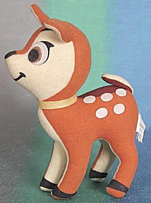 Vintage Walt Disney Plush Bambi (Image1)