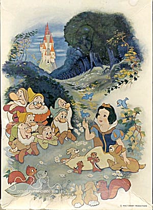 Vintage Snow White Jigsaw Puzzle