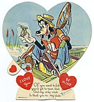 Vintage Walt Disney Goofy Valentine (Image1)
