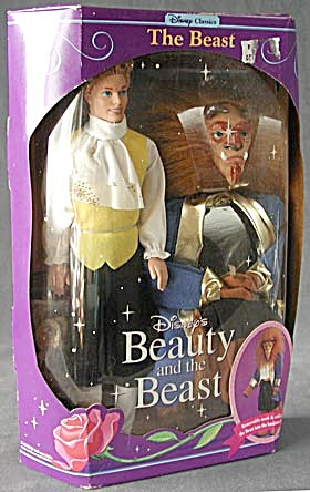 Disney Beauty And The Beast Doll Beast