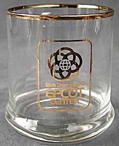 Walt Disney Epcot Center Glass