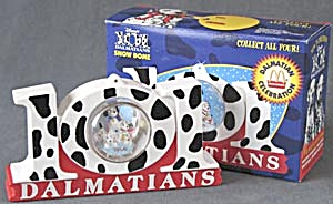 Disney 101 Dalmatians Snow Globe Ornament (Image1)