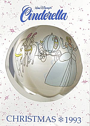 Walt Disney's Cinderella Glass Ball Ornament