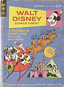 Walt Disney Comics Digest #38 Christmas In Disneyland