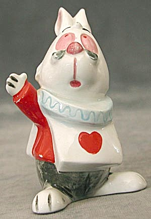 Walt Disney's The White Rabbit In Alice In Wonderland