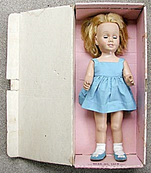 "Vintage Mattel 20""chatty Cathy In Box"