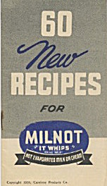 60 New Recipes For Milnot