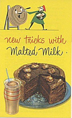 New Tricks With Malted Milk