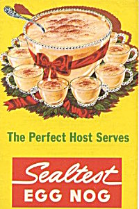 The Perfect Host Serves Egg Nog