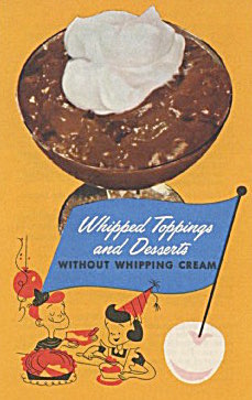 Whipped Toppings & Dearest Without Whipping